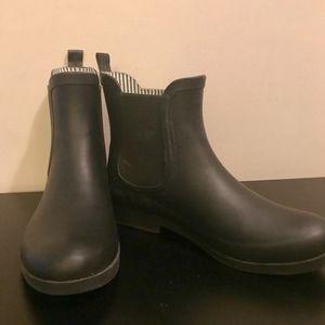 Pajar Black Short Rain Boots